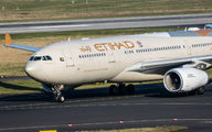 A6-EYK - Etihad Airways Airbus A330-200 aircraft