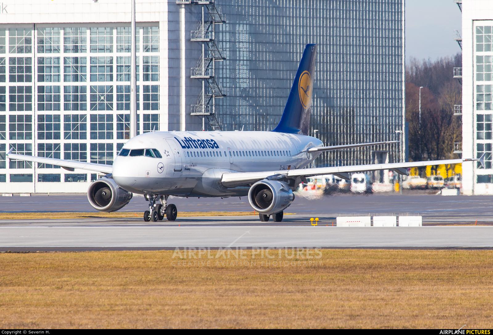 Lufthansa D-AILT aircraft at Munich