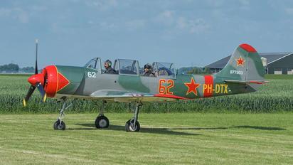 PH-DTX - Private Yakovlev Yak-52