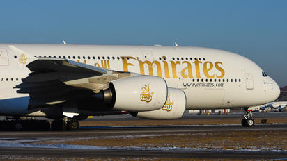 A6-EUK - Emirates Airlines Airbus A380