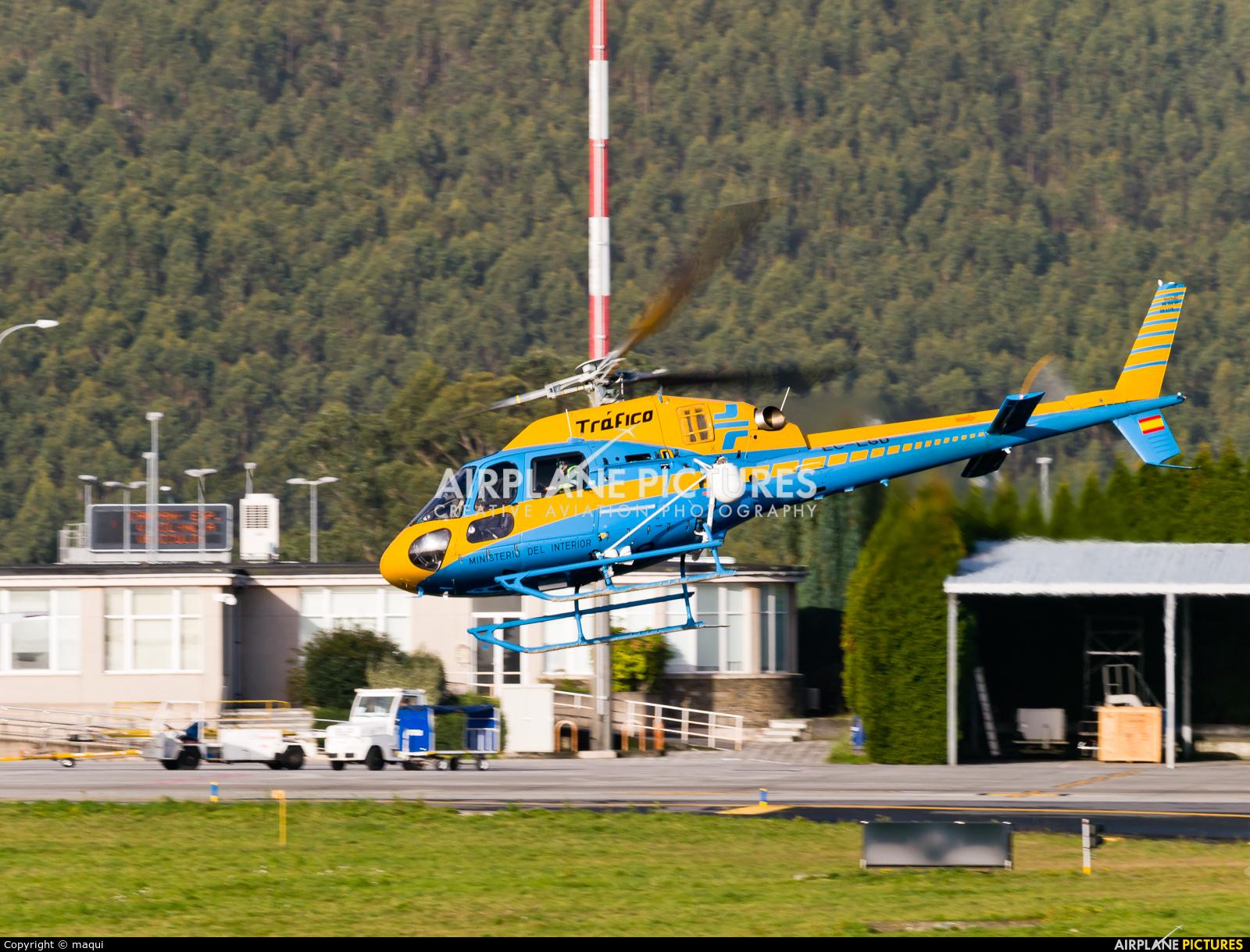 Spain - Government EC-LGD aircraft at La Coruña