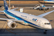 JA877A - ANA - All Nippon Airways Boeing 787-9 Dreamliner aircraft