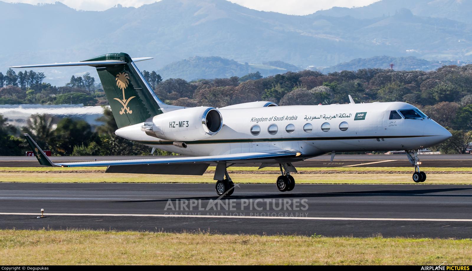 Saudi Arabia - Government HZ-MF3 aircraft at San Jose - Juan Santamaría Intl