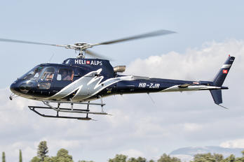 HB-ZJR - Private Eurocopter AS350 Ecureuil / Squirrel