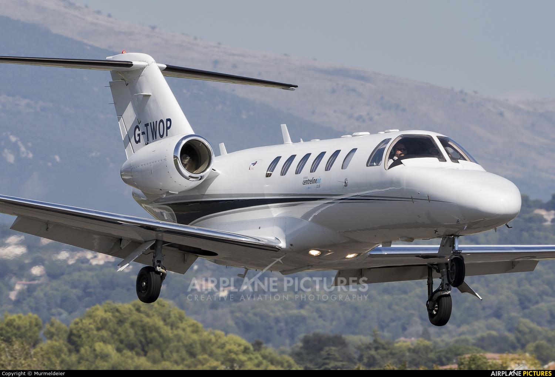 Centreline Air Charter G-TWOP aircraft at Cannes - Mandelieu