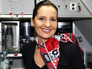 SP-LRC - LOT - Polish Airlines - Aviation Glamour - Flight Attendant