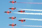 "XX306 - Royal Air Force ""Red Arrows"" British Aerospace Hawk T.1/ 1A aircraft"
