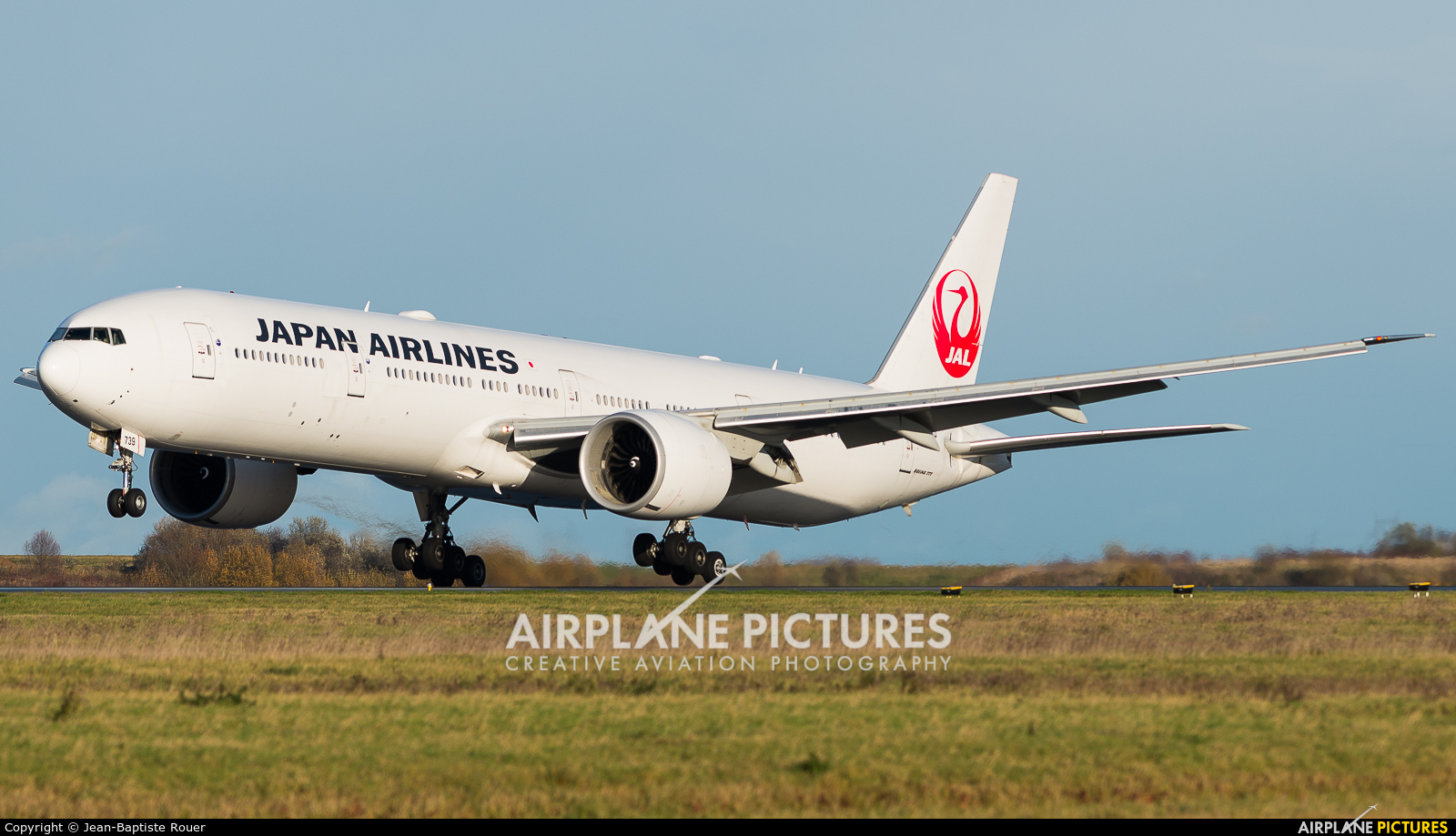 JAL - Japan Airlines JA739J aircraft at Paris - Charles de Gaulle