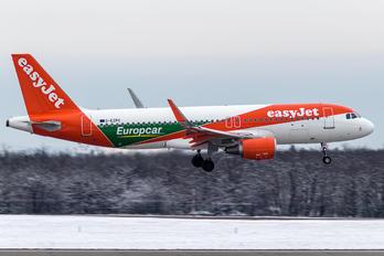 G-EZPC - easyJet Airbus A320