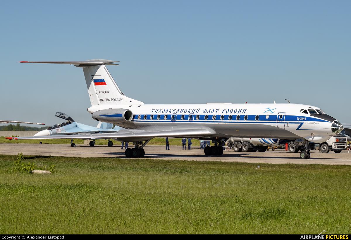 Russia - Navy RF-66002 aircraft at Novosibirsk