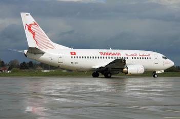 TS-IOH - Tunisair Boeing 737-500