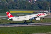 HB-JHE - Swiss Airbus A330-300 aircraft