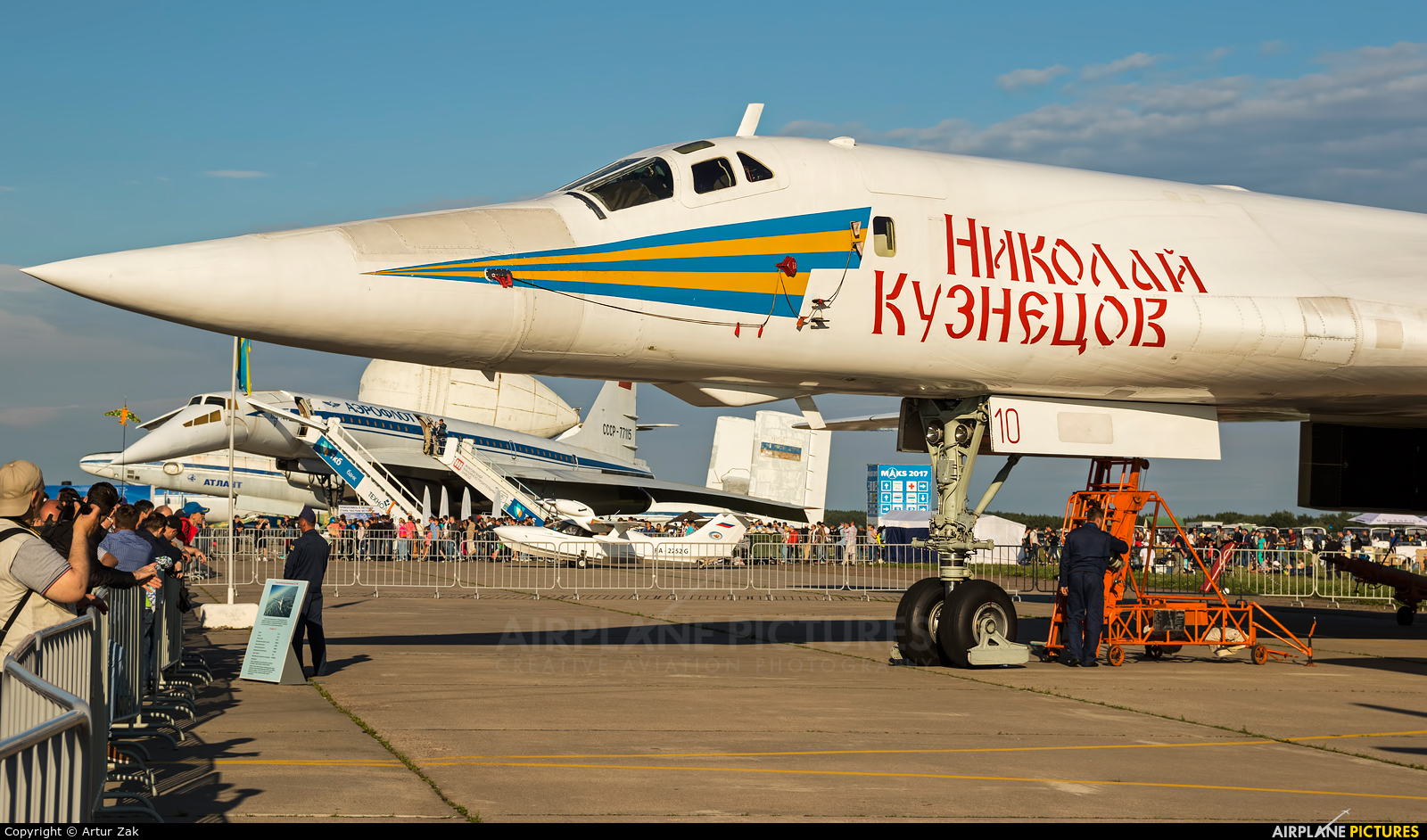 Russia - Air Force RF-94100 aircraft at Ramenskoye - Zhukovsky