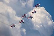 "- - Russia - Air Force ""Strizhi"" Mikoyan-Gurevich MiG-29A aircraft"