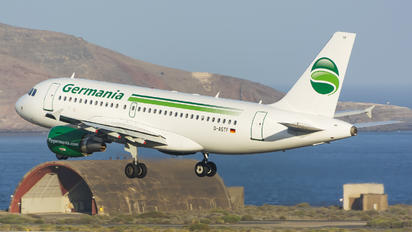 D-ASTF - Germania Airbus A319