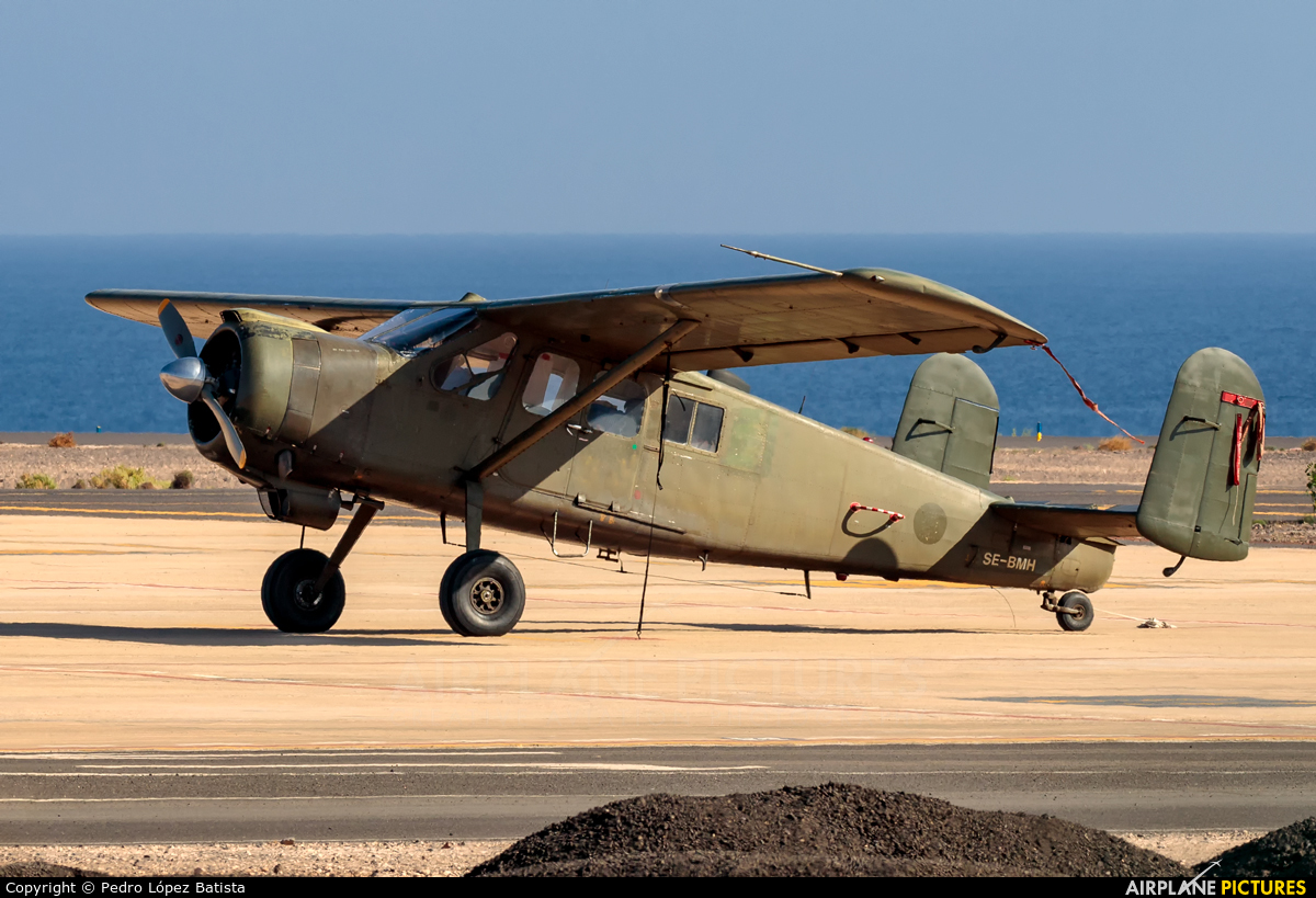 Private SE-BMH aircraft at Fuerteventura - Puerto del Rosario