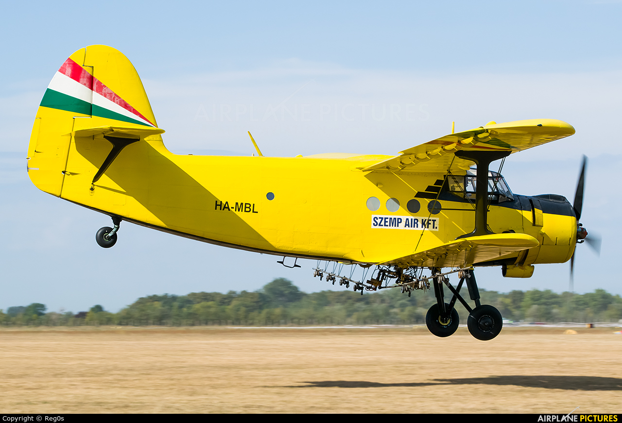 Private HA-MBL aircraft at Szeged