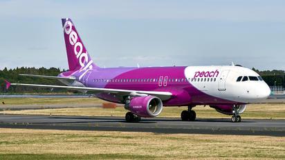 JA804P - Peach Aviation Airbus A320