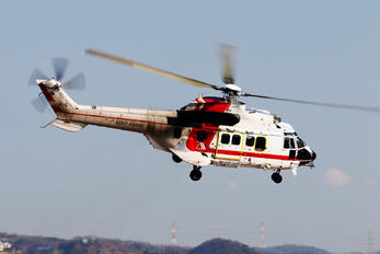 JA9678 - Aero Asahi Aerospatiale AS332 Super Puma L (and later models)