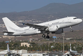 G-NOAH - Acropolis Aviation Airbus A319 CJ