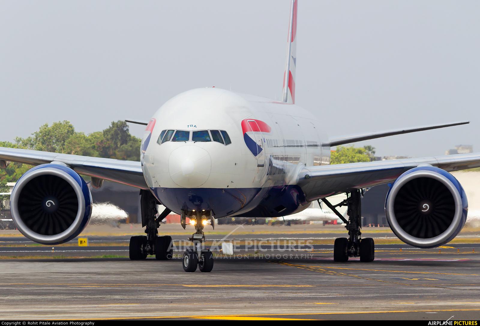 British Airways G-STBA aircraft at Mumbai - Chhatrapati Shivaji Intl