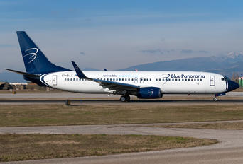 EI-GAX - Blue Panorama Airlines Boeing 737-800