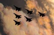 """- - Russia - Air Force """"Russian Knights"""" Sukhoi Su-30SM aircraft"""