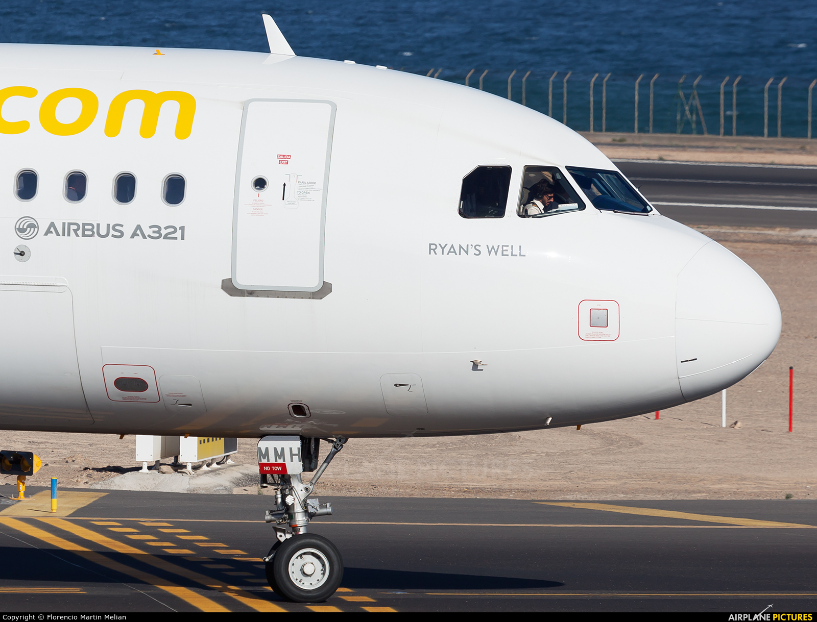 Vueling Airlines EC-MMH aircraft at Lanzarote - Arrecife
