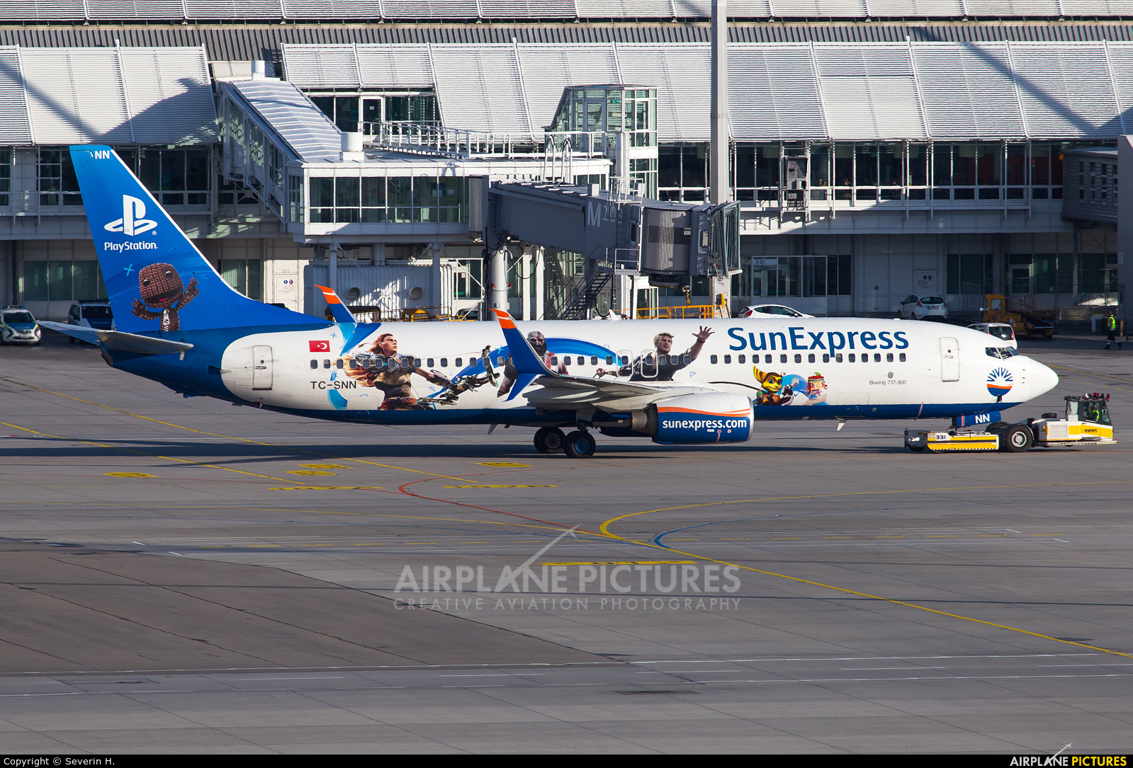 SunExpress TC-SNN aircraft at Munich