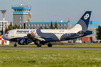 VQ-BBD - Aurora Airbus A319