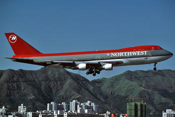 N636US - Northwest Airlines Boeing 747-200