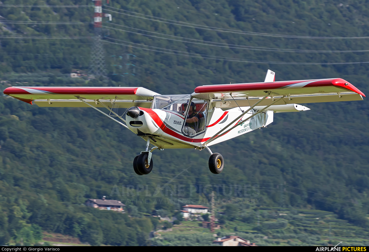 Private - aircraft at Costa Volpino