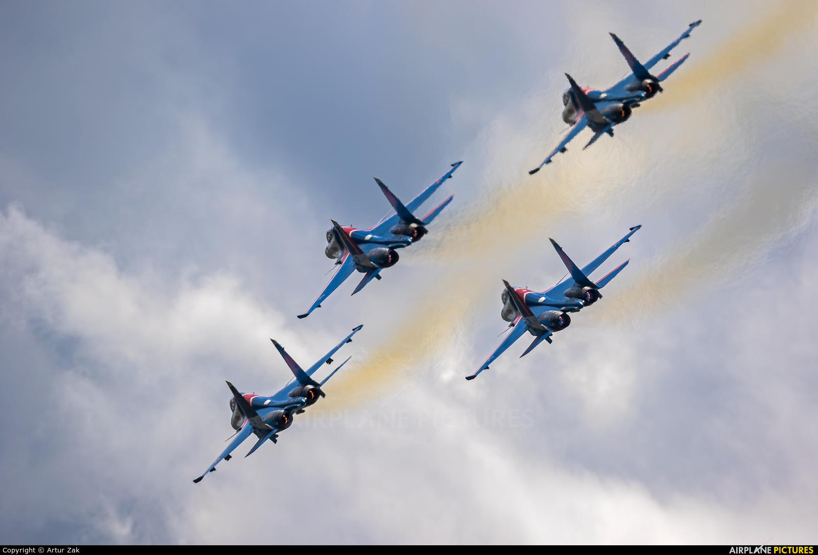 "Russia - Air Force ""Russian Knights"" - aircraft at Ramenskoye - Zhukovsky"