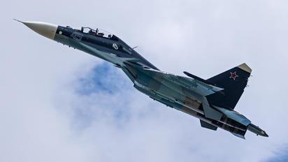 45 - Russia - Navy Sukhoi Su-30SM