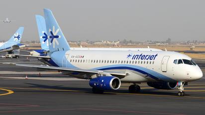 XA-GCD - Interjet Sukhoi Superjet 100