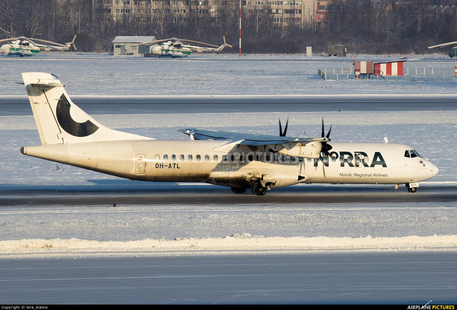 Airline Milf oh-atl - norra - nordic regional airlines atr 72 (all models