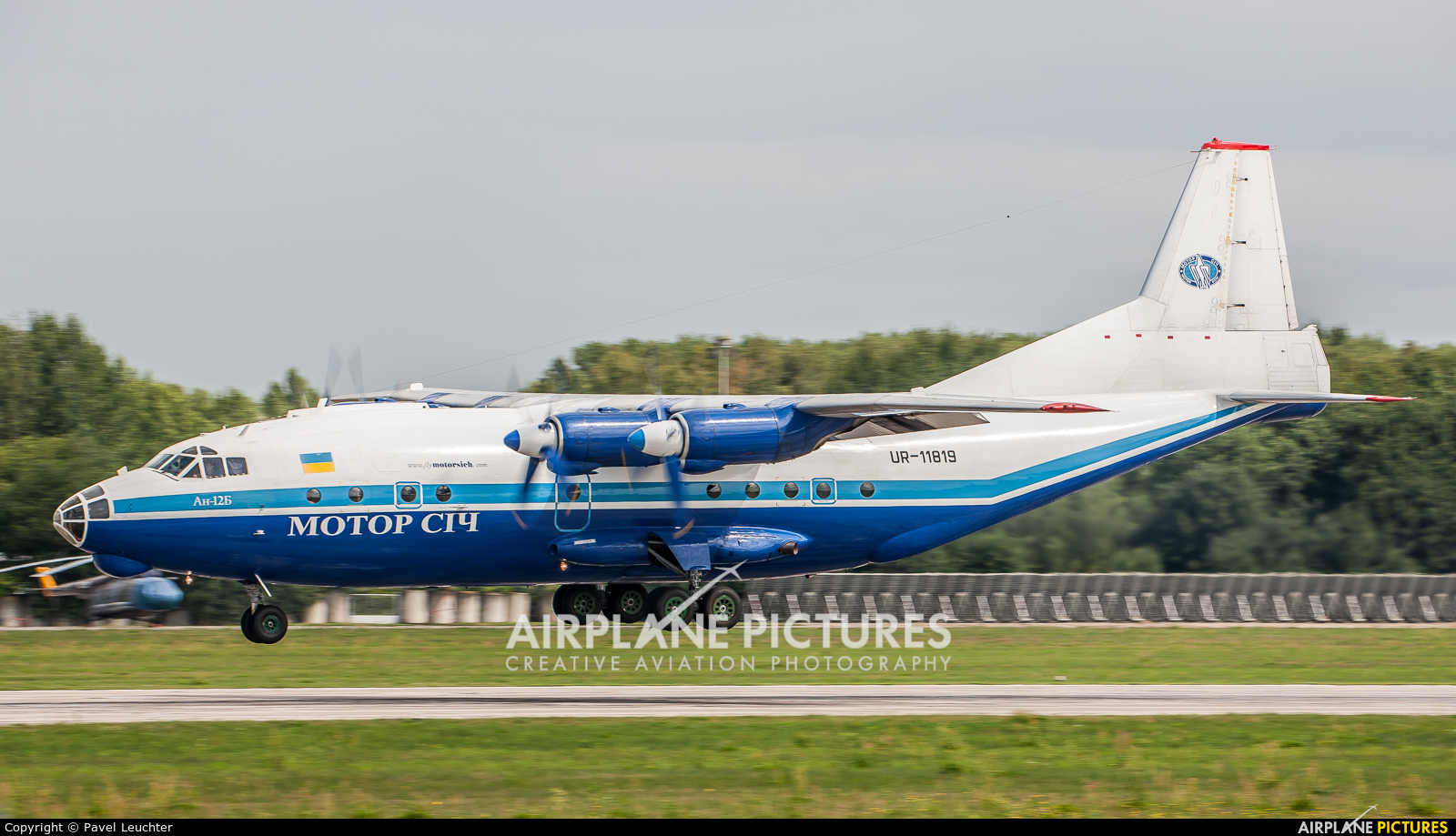 Motor Sich UR-11819 aircraft at Pardubice