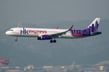 B-LEH - Hong Kong Express Airbus A321