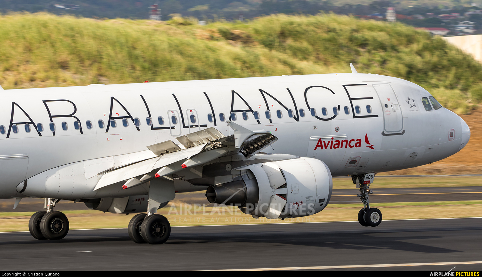 Avianca N686TA aircraft at San Jose - Juan Santamaría Intl