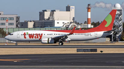 HL8067 - T'Way Air Boeing 737-800