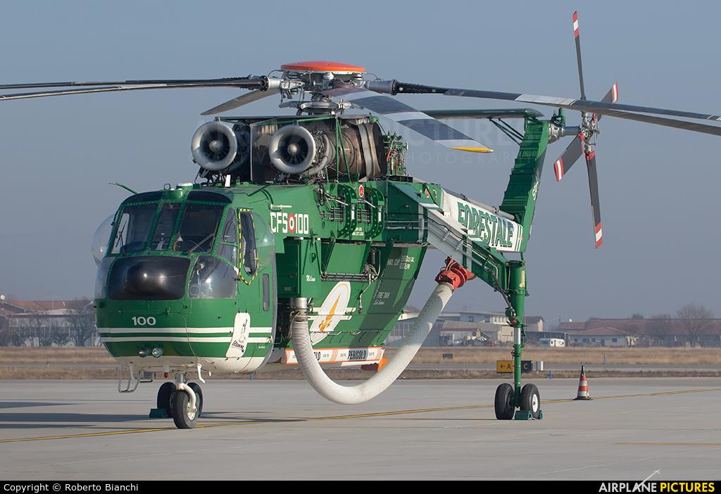 Italy - Corpo Forestale dello Stato I-CFAH aircraft at Brescia - Montichiari