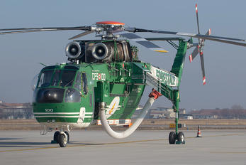 I-CFAH - Italy - Corpo Forestale dello Stato Sikorsky S-64E/F Skycrane
