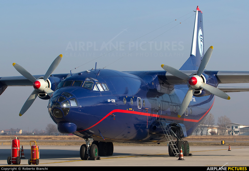 Ukraine Air Alliance UR-CNT aircraft at Brescia - Montichiari