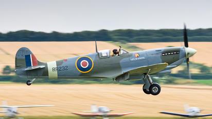 G-BRSF - Boultbee Flight Academy Supermarine Spitfire Mk.IX