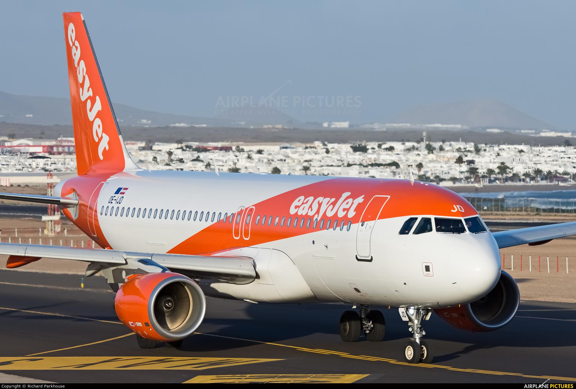 easyJet Europe OE-IJD aircraft at Lanzarote - Arrecife