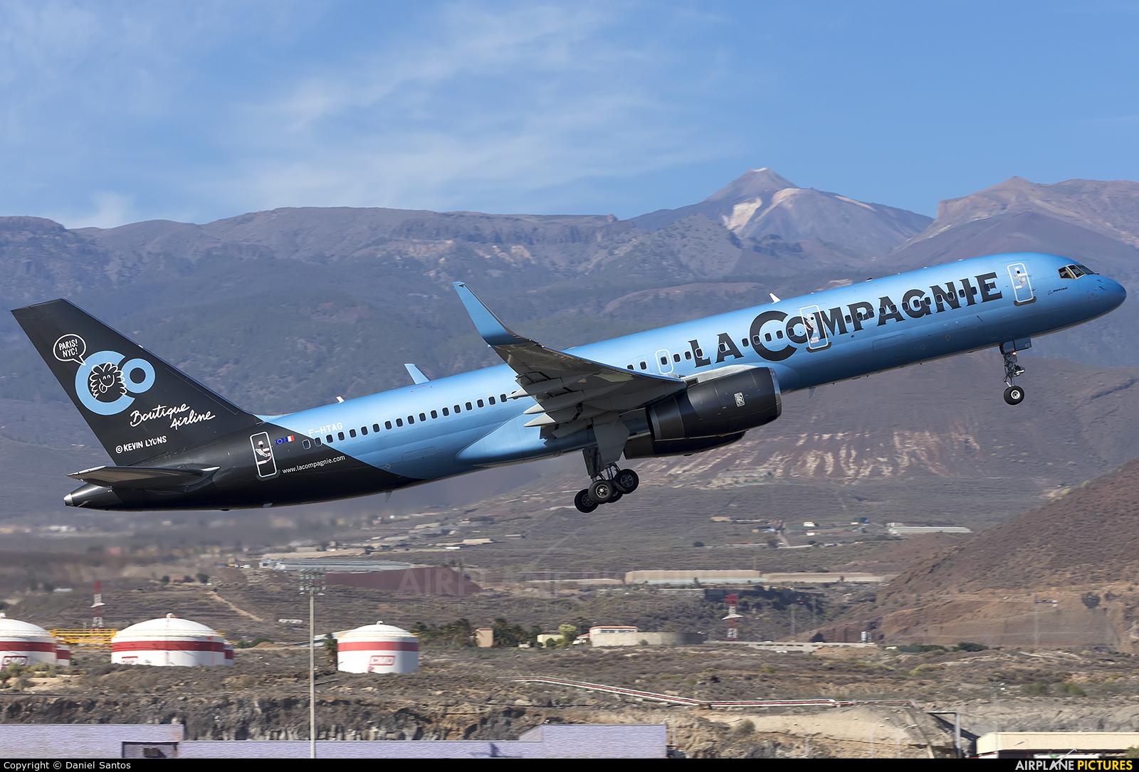 La Compagnie F-HTAG aircraft at Tenerife Sur - Reina Sofia