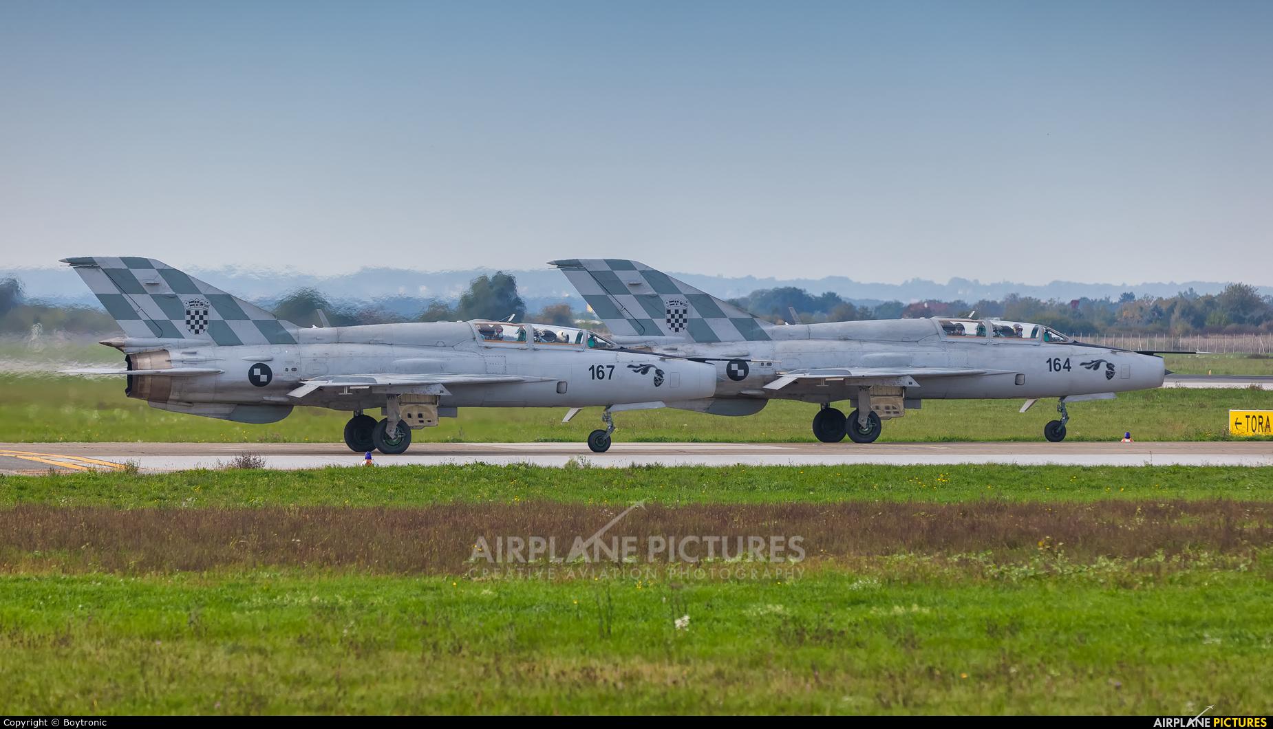Croatia - Air Force 167 aircraft at Zagreb