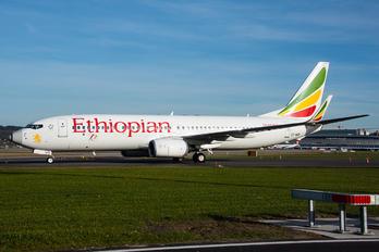 ET-AQO - Ethiopian Airlines Boeing 737-800