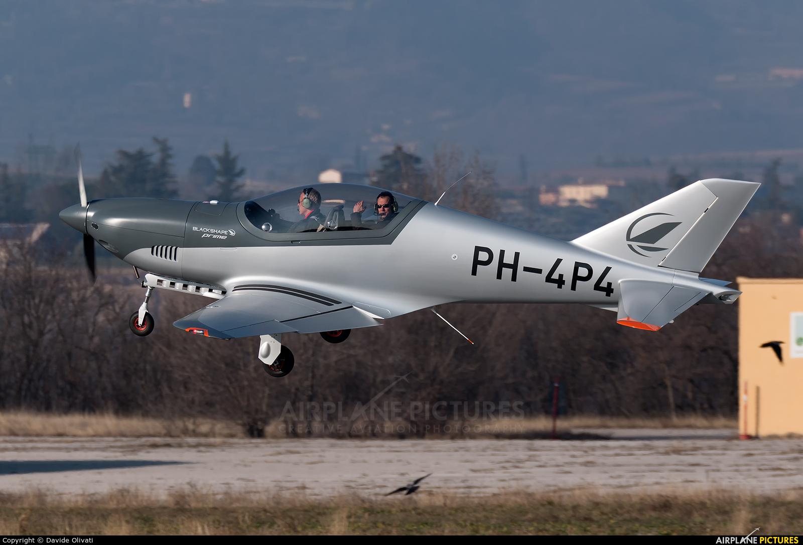 Private PH-4P4 aircraft at Verona - Boscomantico