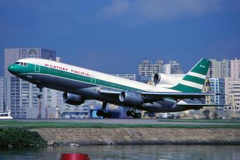 VR-HOA - Cathay Pacific Lockheed L-1011-1 Tristar